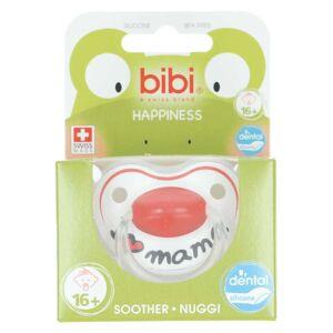 Bibi Happy glow in the dark 16+ maanden fopspeen