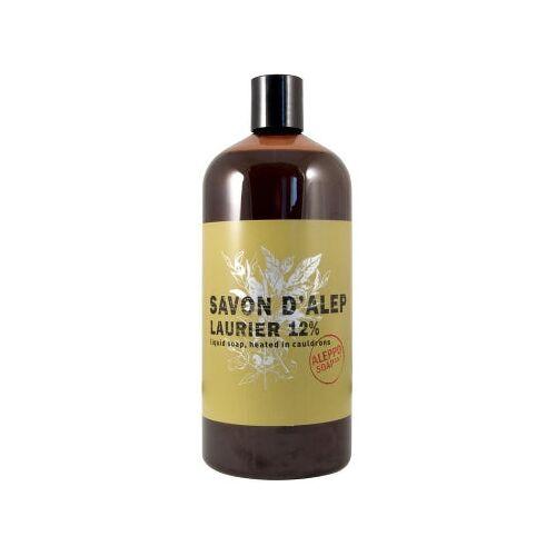Aleppo Soap Co Aleppo zeep 12% laurier navul 1000 ml