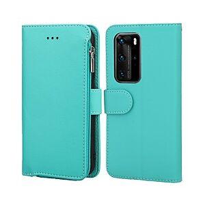 Huawei telefoon hoesje Voor Huawei Volledig hoesje P40 P40 Pro P40 Pro P30 P30 Pro P30 Lite Huawei Mate 20 lite Huawei Mate 20 pro Huawei Mate 20 P40 lite Kaarthouder Schokbestendig Stofbestendig Effen TPU miniinthebox