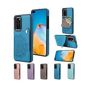 Huawei telefoon hoesje Voor Huawei Achterkant P40 P40 Pro P30 P30 Pro P30 Lite Huawei Mate 20 lite Huawei Mate 20 pro Huawei Mate 20 P40 lite Partner 30 Kaarthouder Schokbestendig Stofbestendig Grafisch miniinthebox