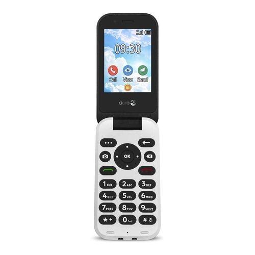 Doro 7030 4G Mobiele telefoon voor senioren zwart-wit