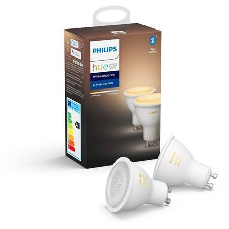 Philips Hue Wit Ambiance 2-Pack ...