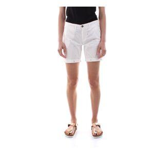 40Weft Maya 4195 Shorts AND Bermudas Women White - Female - 42 IT