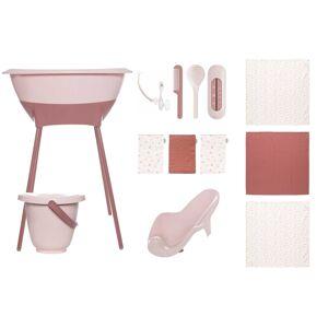 Luma Bad- en verzorgingsset Luma Hydrofiel Blossom Pink/Sunset Shapes