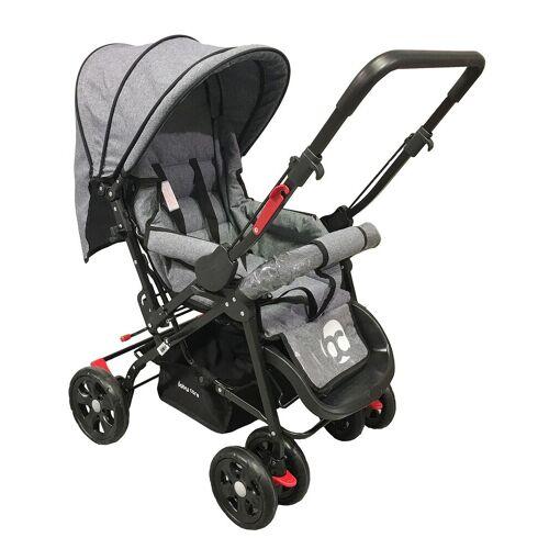 Derya Bebe Kinderwagen Babycare Snopy Grey Melange