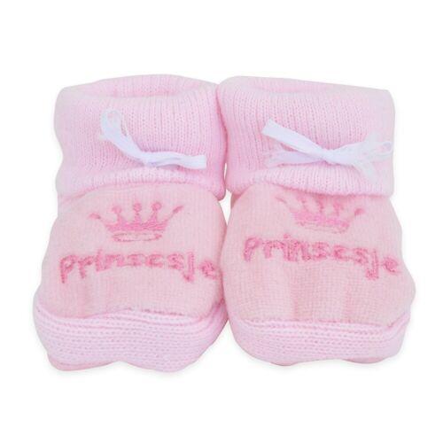 Petit Villain Babyslofjes   Prinsesje   Roze