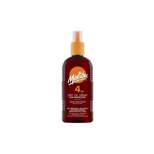 Malibu Dry Oil Spray SPF4 200 ml Zonnebrandcrème