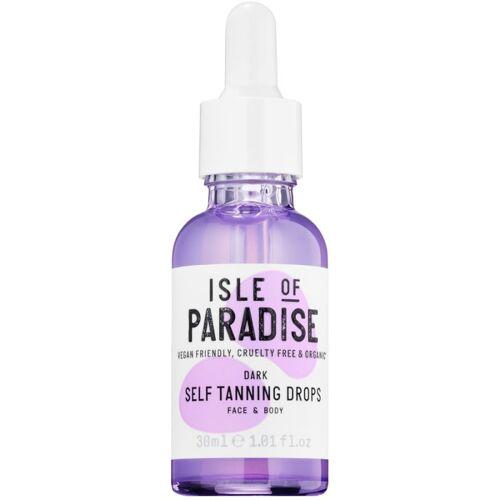 Isle Of Paradise Dark Self Tanning Drops Gezicht & Lichaam 30 ml Zelfbruiner