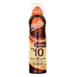 Malibu Continuous Sun Lotion Spray SPF10 175 ml Zonnebrandspray