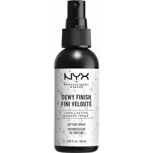 NYX Dewy Finish Setting Spray 60 ml Make-Up Fixing Spray
