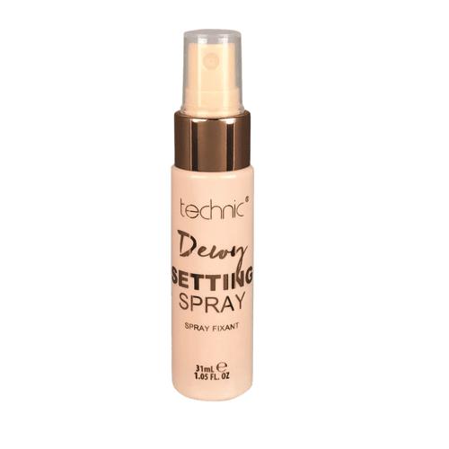 Technic Dewy Setting Spray 31 ml Make-Up Fixing Spray