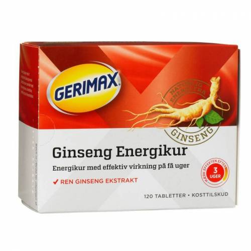 Gerimax Ginseng Energy Cure 120 st Ginseng