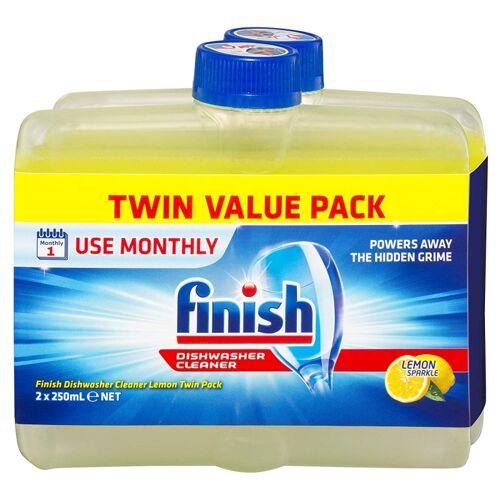 Finish Vaatwasmachinereiniger Lemon Twin Pack 2 x 250 ml Vaatwasser Reiniger