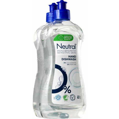 Neutral Afwasmiddel 2 x 500 ml Afwasmiddel