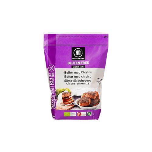 Urtekram Glutenvrije Chiazaad Broodbakmix Eko 440 g Bakken
