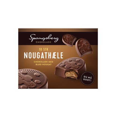 Spangsberg Chocolade Met Nougat 90 g Chocolade