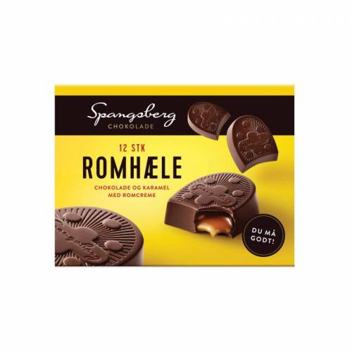 Spangsberg Chocolade Met Rumcrème 120 g Chocolade