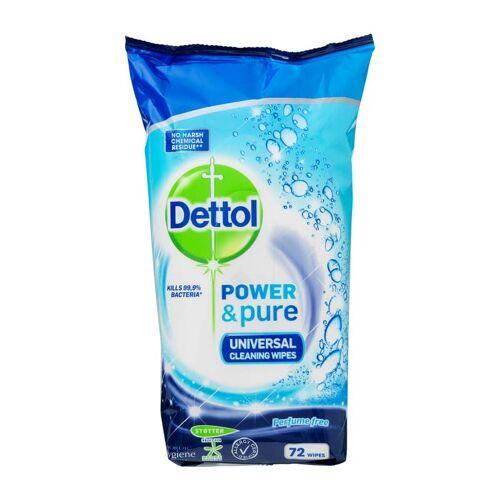 Dettol Power & Pure Universele Reinigingsdoekjes 72 st Reinigingsdoekjes
