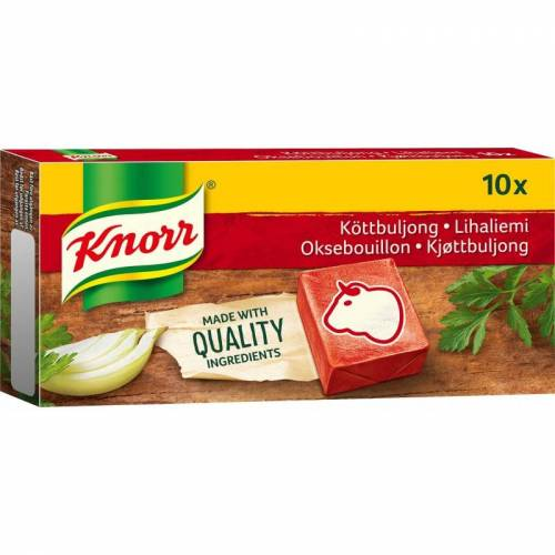 Knorr Rundvlees Bouillon 10 st Kruiden