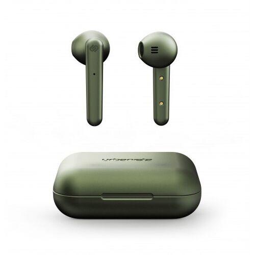 Urbanista Stockholm oortjes draadloos earphones wireless bluetooth - Olijfgroen