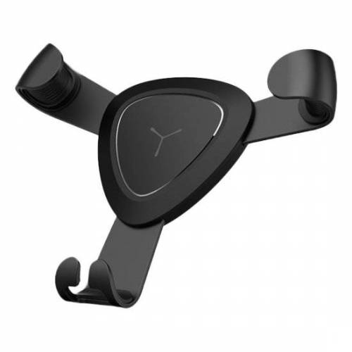 GadgetBay Iron Claw Ventilatierooster - Houder Car Auto Luchtrooster iPhone Smartphone - Zwart