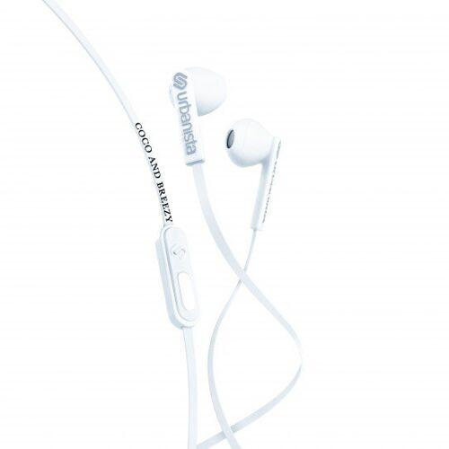 Urbanista San Francisco Coco Breezy oortjes earphones - Wit