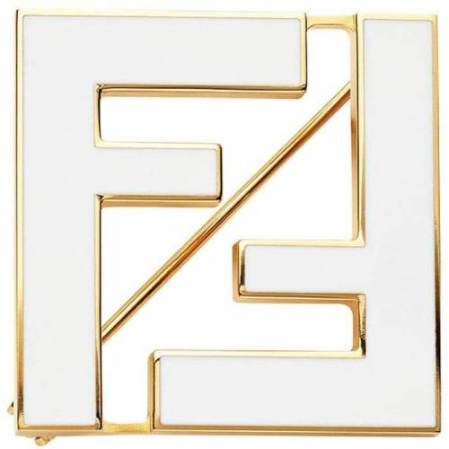 Fendi Tweekleurige Broche