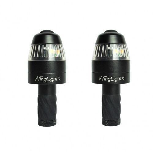 Cycl WingLights360 Richtingaanwijzer en zijlichten voor fietsstuur zwart