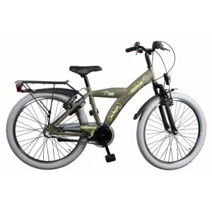 Bike Fun Camouflage 20 Inch 33 cm Jongens 3V Terugtraprem Legergroen