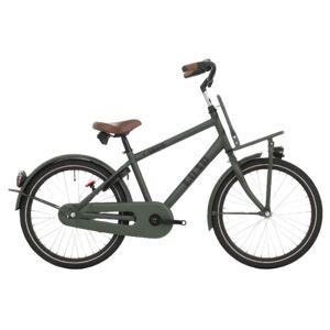 Bike Fun Load 24 Inch 38 cm Jongens 3V Terugtraprem Donkergroen