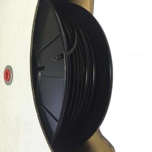 Slurf remkabel buiten 50 meter gevoerd zwart