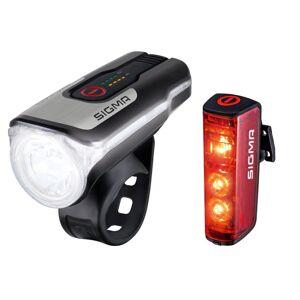 Sigma verlichtingsset Blaze & Aura 80 LED USB oplaadbaar