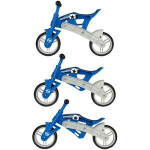 Nijdam Loopfiets verstelbaar N Rider 10 Inch Junior Blauw