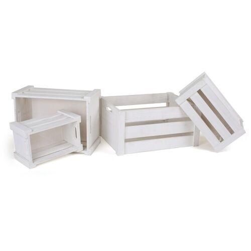 Small Foot houten kratten wit 4 stuks