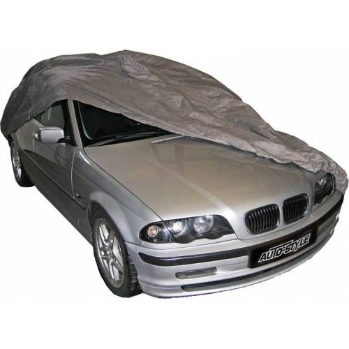 AutoStyle autohoes sedan M 432 x 150 x 126 cm PVC/katoen grijs