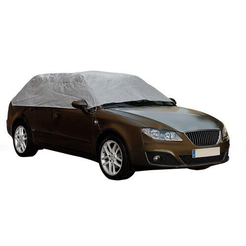 Car Plus autohoes voor dak maat S 233 x 147 x 51 cm zilver