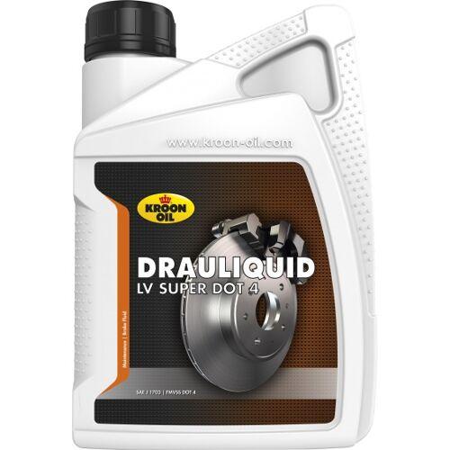 Kroon Oil remvloeistof Drauliquid LV Super DOT4 1 liter (33820)