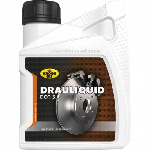Kroon Oil remvloeistof Drauliquid DOT 5.1 500 ml (35664)