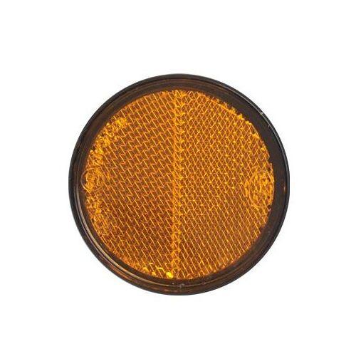 ProPlus reflector met grondplaat 58 mm zelfklevend oranje