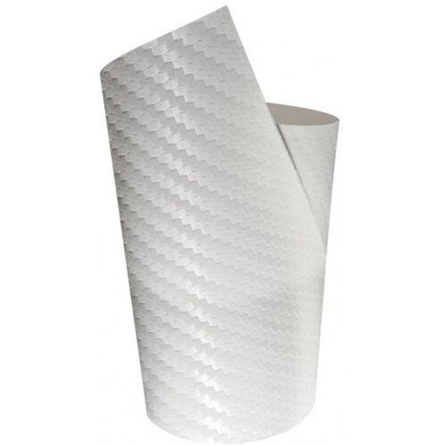 Foliatec decoratiefolie Ultra Carbon 61 x 40 cm wit