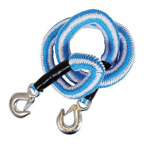 Jumbo sleepkabel stretch 2.5 ton 4 meter blauw/wit