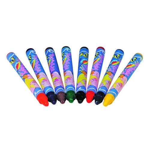 Toys Pure Textiel Krijtjes 8 Stuks - Multicolor