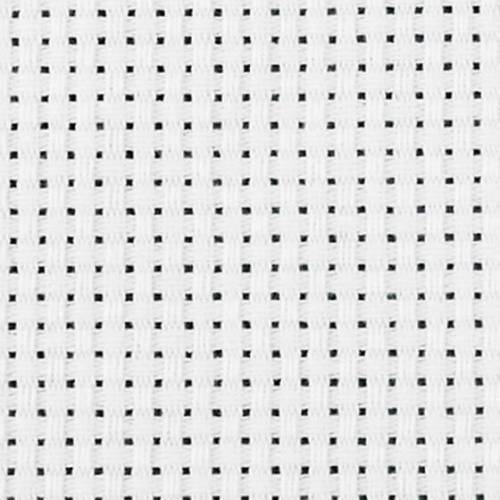 Creotime aida stoffen doek wit 150 cm - Wit