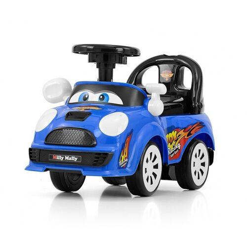 Milly Mally Ride On Joy loopwagen junior blauw - Blauw