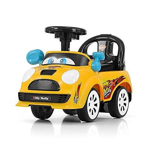 Milly Mally Ride On Joy loopwagen junior geel/zwart - Geel