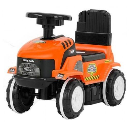 Milly Mally Ride On Rolly loopwagen Truck junior oranje/zwart - Oranje