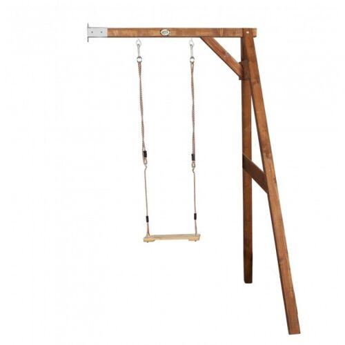 AXI Enkele schommel muurbevestiging 217 x 170 cm - Bruin