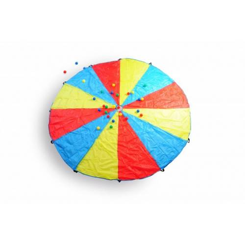 BS Toys vangspel parachute 305 cm multicolor - Multicolor