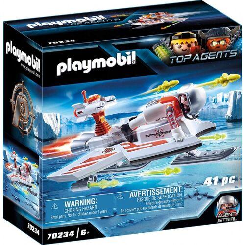 PLAYMOBIL Top Agent Spy Team zweefvliegtuig (70234) - Multicolor