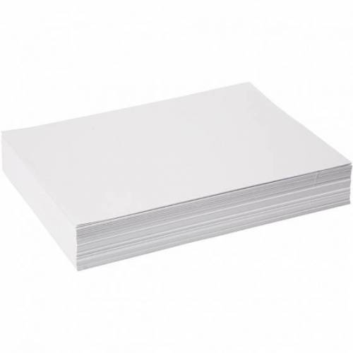 Creative Tekenpapier/kopieerpapier A4 wit - Wit